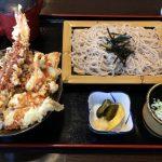 ミニ天丼とざる蕎麦セット