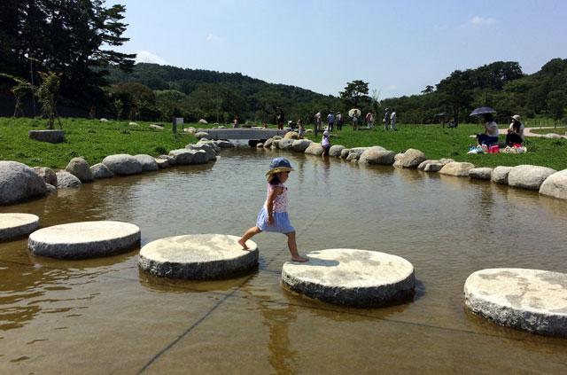 高松公園の水場