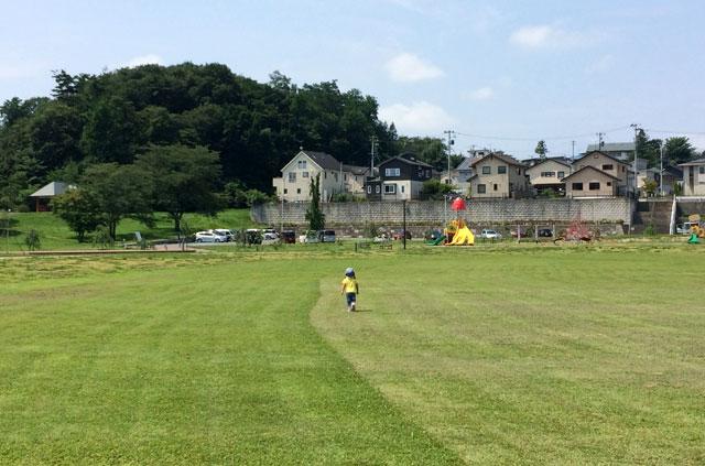 高松公園の広場