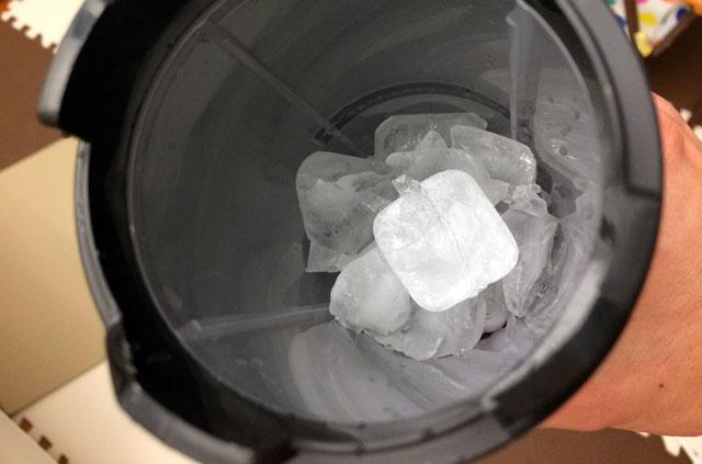 冷蔵庫の氷を使える
