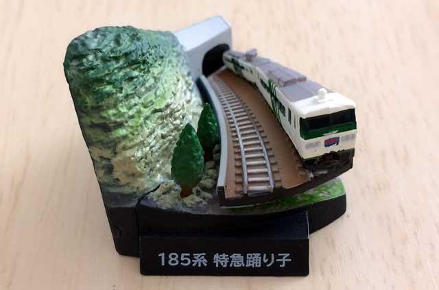 石橋山トンネルと特急踊り子