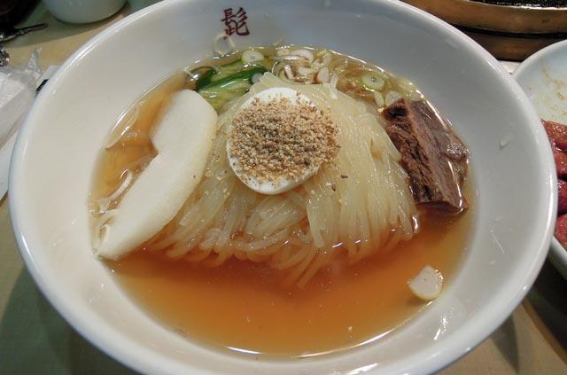 髭の盛岡冷麺