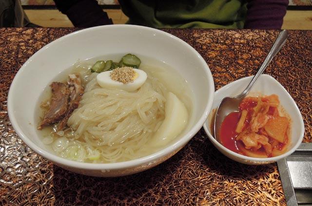 肉の米内の盛岡冷麺