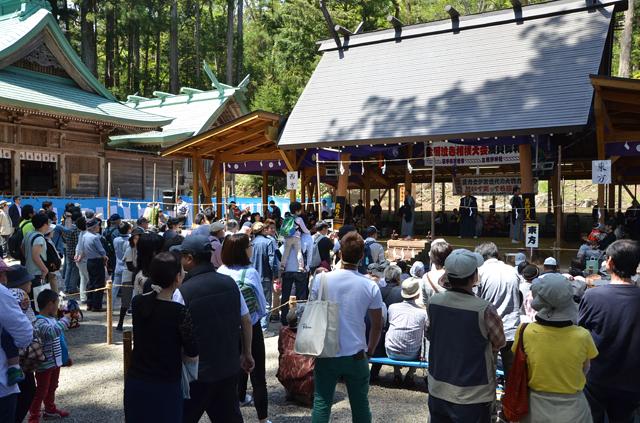 泣き相撲大会の会場