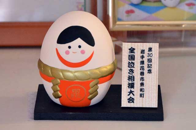 お土産の陶器人形