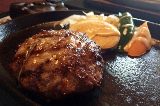 黒毛和牛ハンバーク定食