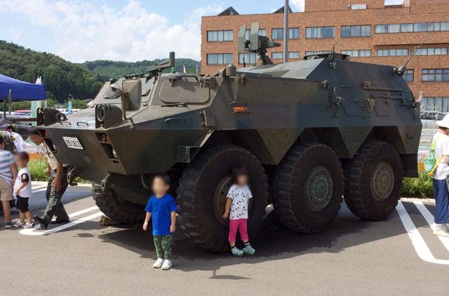 自衛隊の特殊車両