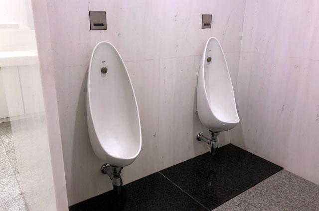 岩手県立美術館の小トイレ