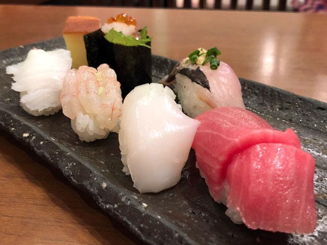 清次郎の誕生日プレゼント寿司