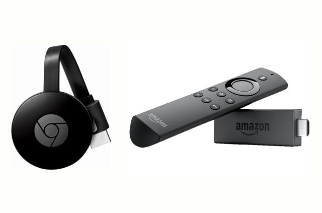 ChromecastとFrieTV