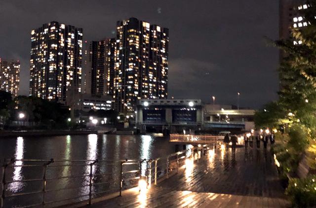 天王洲アイルの夜