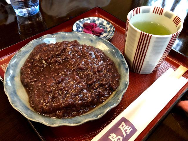 高島屋のあんこ餅