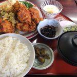 盛岡食堂の唐揚定食